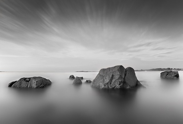 Идеи для фото – Черно-белые пейзажи от Christopher George [8 шт]