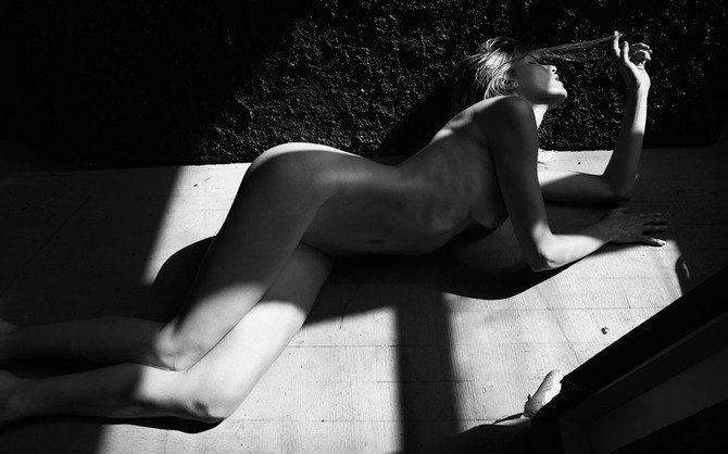 Идеи для фото – градации серого... девушка Gianluca Fontana [10 шт]