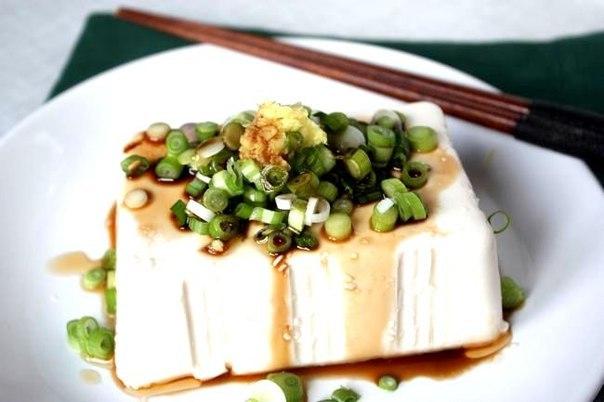 Рецепт – Хияякко. Блюдо из тофу