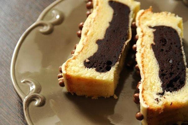 Рецепт – Кекс с йогуртом и какао