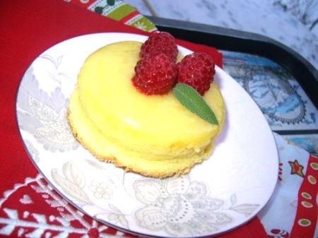 Рецепт – Лимонный кекс-пудинг