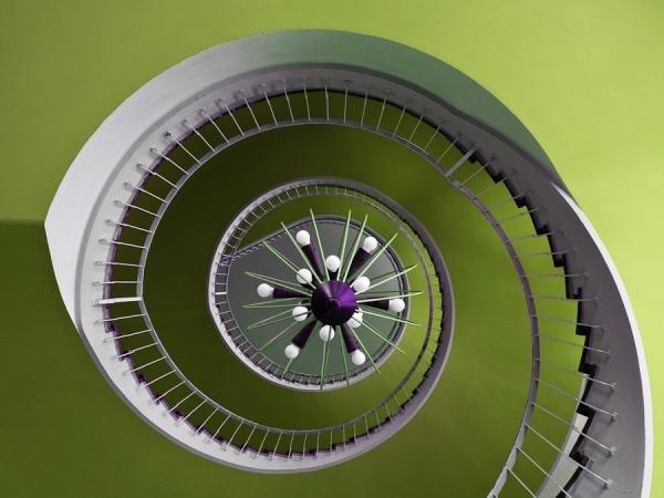 Идеи для фото – Фотографии лестницы от Nils Eisfeld [10 шт]