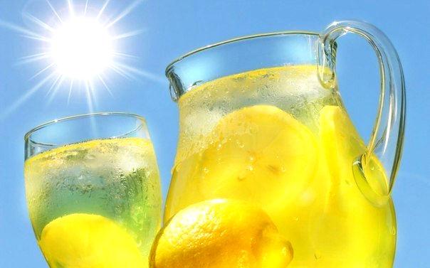 Рецепт коктейля – Освежающий лимонад своими руками