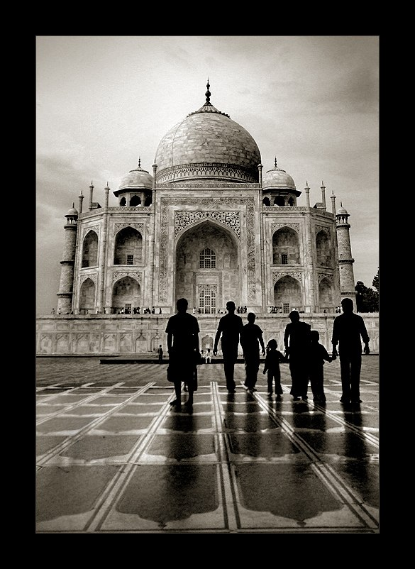 Идеи для фото – Тадж-Махал. Фотографии Thamer Al-Tassan
