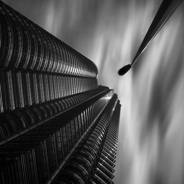 Идеи для фото – Черно-белый минимализм в фотографиях Thomas Leong [10 шт]