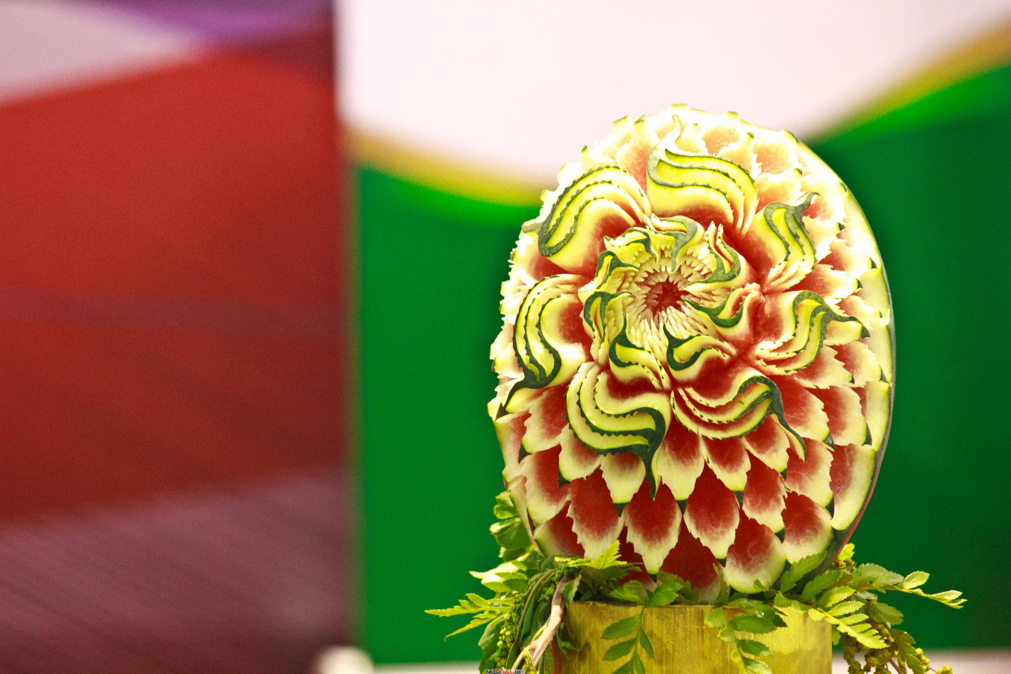 Идеи для дизайна – Резьба по арбузу. Красивые фигуры из арбуза [41шт]