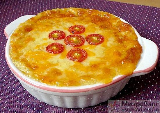 Рецепт - Картофельная запеканка с сыром и луком