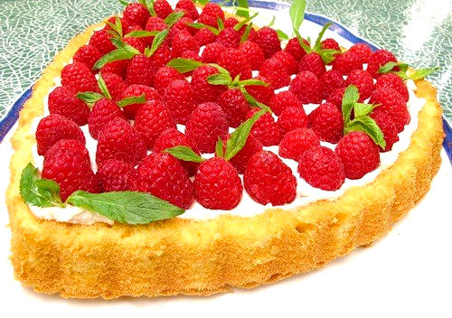 Рецепт - Торт Малиновое сердце