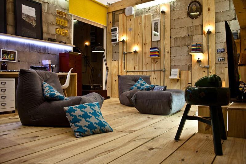 Идеи для дизайна – комната отдыха и мультимедиа [9 шт]