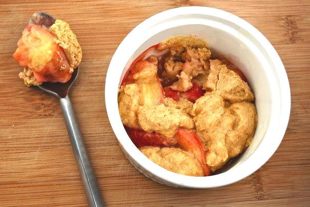 Рецепт – Персиковый коблер