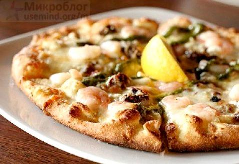 Рецепт – Пицца по-японски
