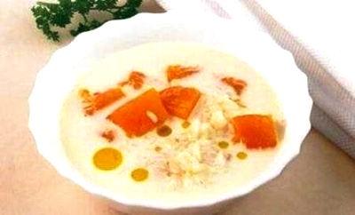 Рецепт–Альпийский молочный суп