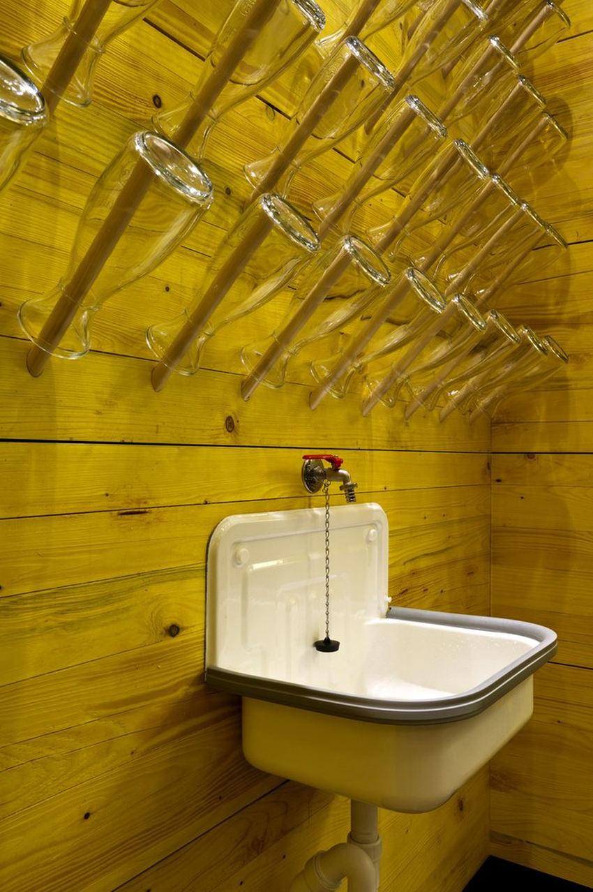 Идеи интерьера–Отель-хостел в Гамбурге от архитекторов Dreimeta