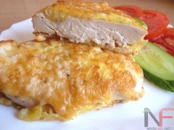 Рецепт – Куриные отбивные в сырном кляре