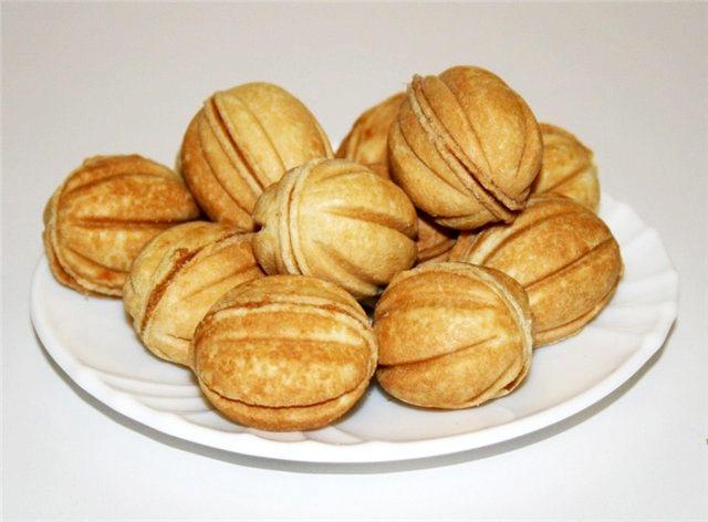 Орешки со сгущенкой рецепт