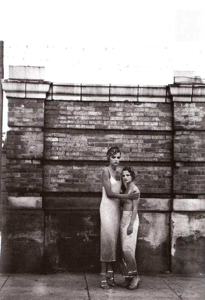Идеи для фото–Эстер Канадас и Мелани Тьерри от Питера Линдберга