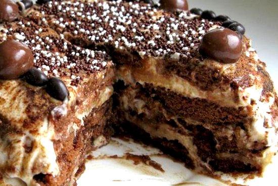Рецепт–Пряничный торт (без выпечки)! Панчо