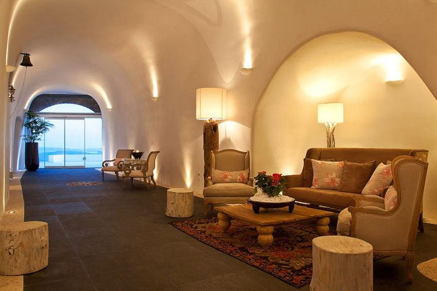 Идеи интерьера–Бутик-отель San Antonio на острове Санторини