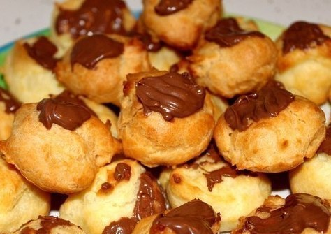 Рецепт – Заварные пирожные с шоколадом