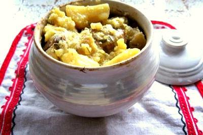 Рецепт – Жаркое в горшочках из говядины с квасом