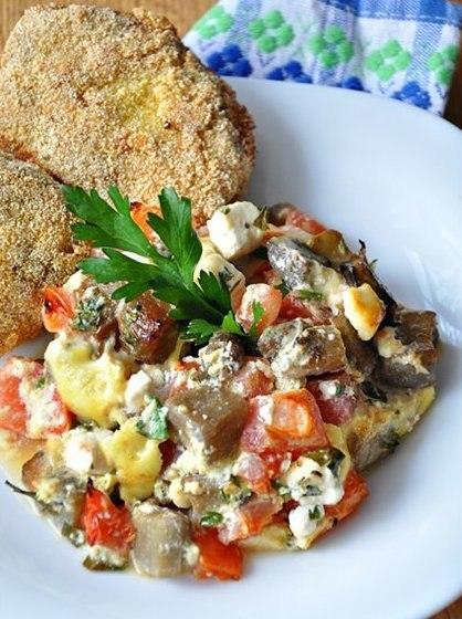 Рецепт – Баклажаны по-болгарски