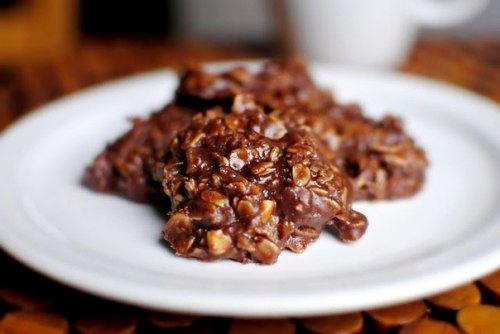 Рецепт–Овсяное печенье с кокосом и арахисовым маслом