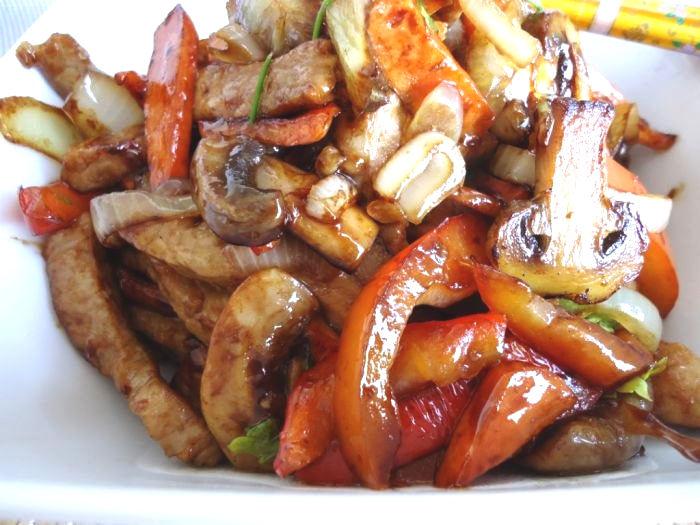 Рецепт – Свинина стир фрай