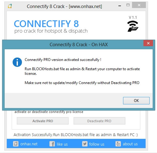 Connectify Dispatch PRO активация