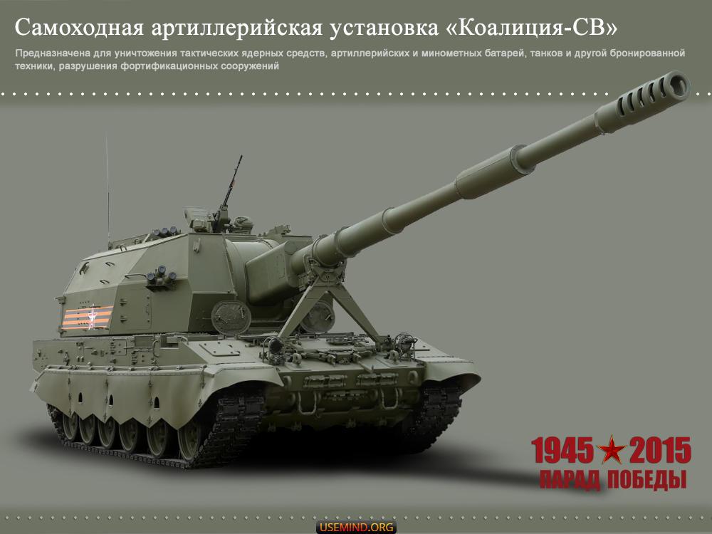 Самоходная артиллерийская установка «Коалиция-СВ»