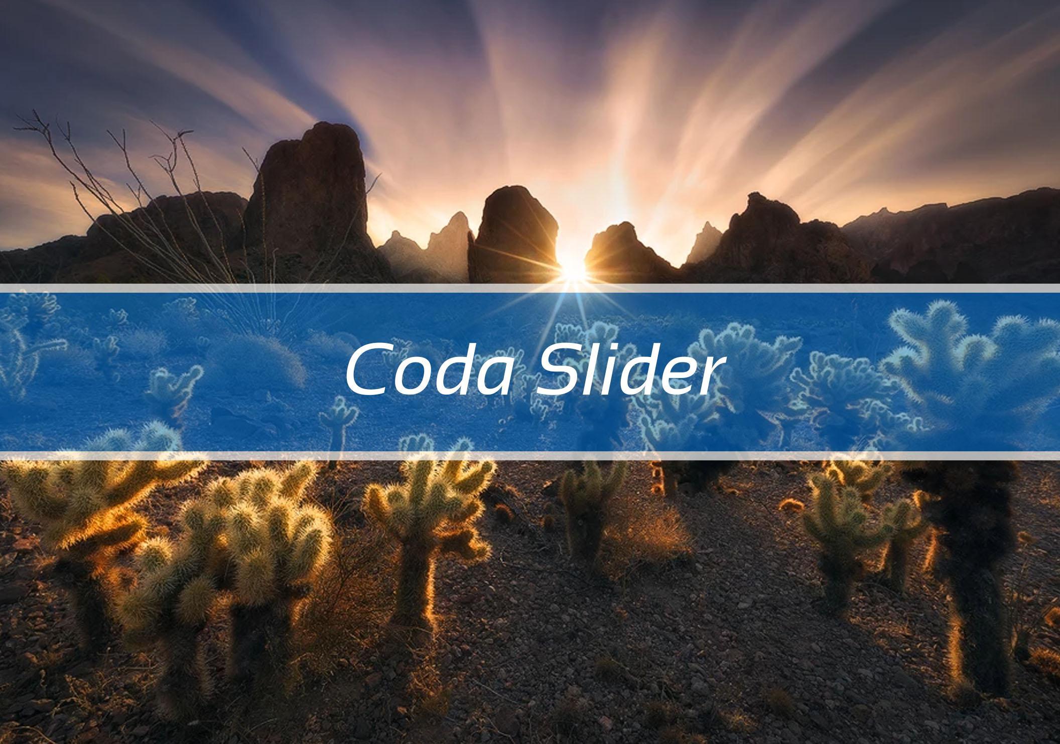 Coda Slider