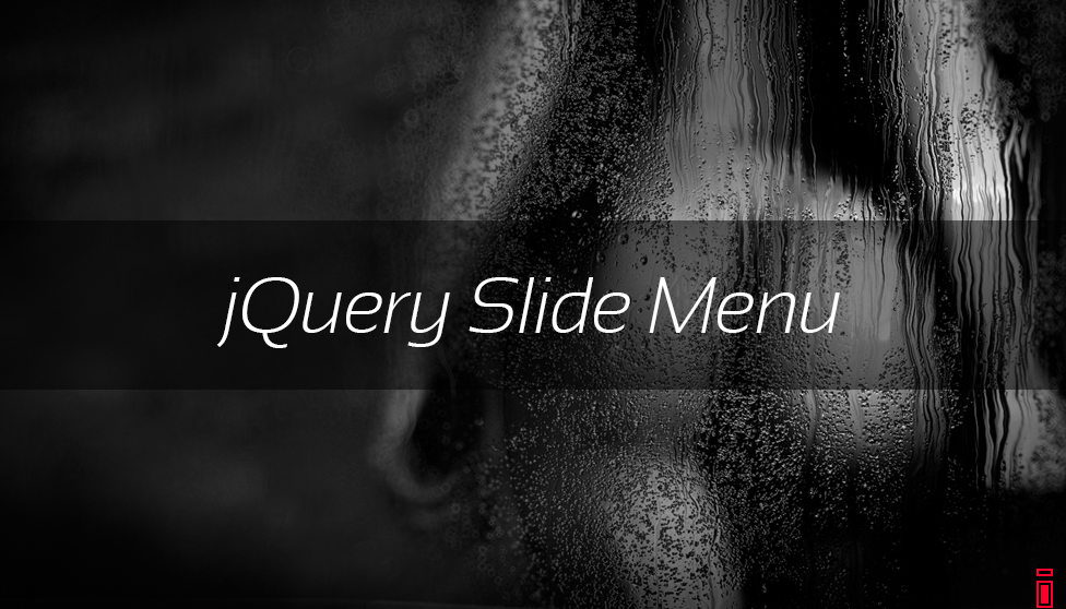jQuery Slide Menu
